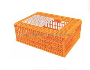 Live chicken cage to transport cage plastic chicken transport cage /crate/coop