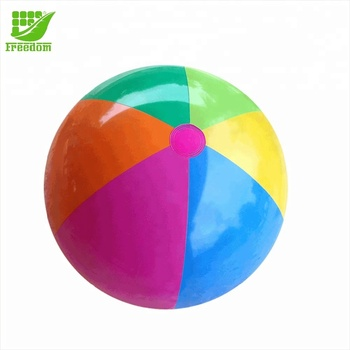 Promotional Printed Logo Inflatable Beach Ball