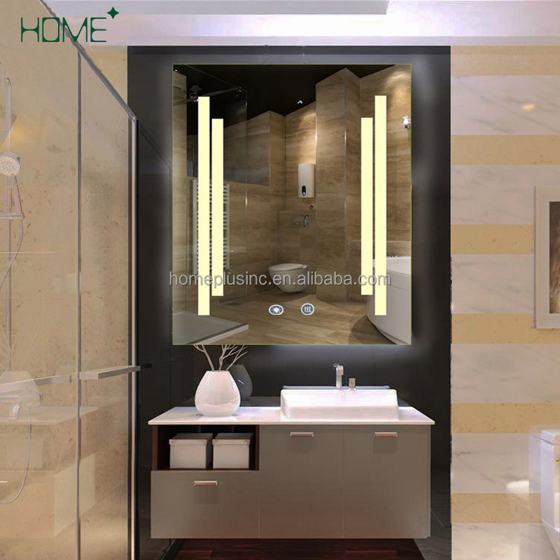 Hot sale water proof led light full length wall mirror