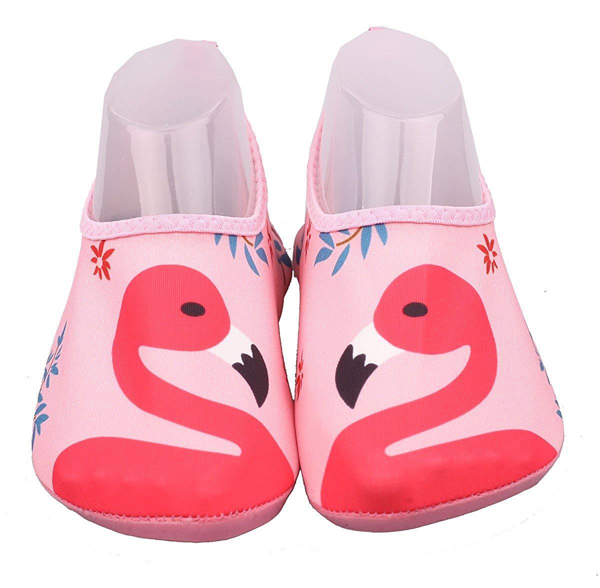 ADAHOP Women's Men's Kids Quick-Dry Water Sports Shoes Barefoot Aqua Yoga Socks