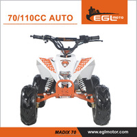 New cheap 70cc or 110cc 4 stroke mini quad ATV for kids racing style