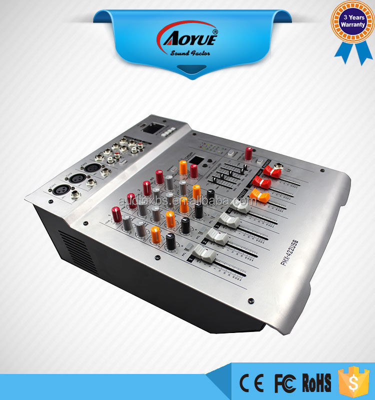 Use for family 4 channel USB audio console mixer XBS-422D