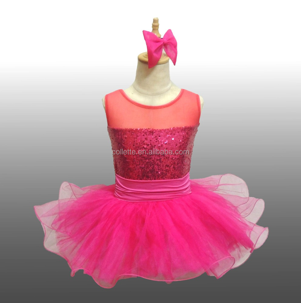 10107daf8 2017 New !! Mbq980 Hot Pink Child Lovely Beautiful Sequin Leotard ...