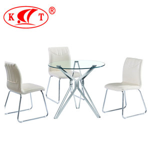 Home Furniture Contemporary Classic 4/6/8/10 Seats Round Dining Table Set Luxury Dining Room Table Sets