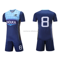 Professional football jersey Thai quality stripes football kit