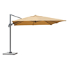 Wholesale 310g polyester LED Light Outdoor Rome Umbrella for garden