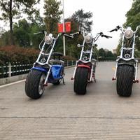 High Quality High Speed 2000W Electric Motorcycle