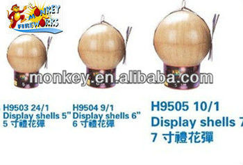 1.3g Firework 3 4 5 6 Inch Display Shell For Sale