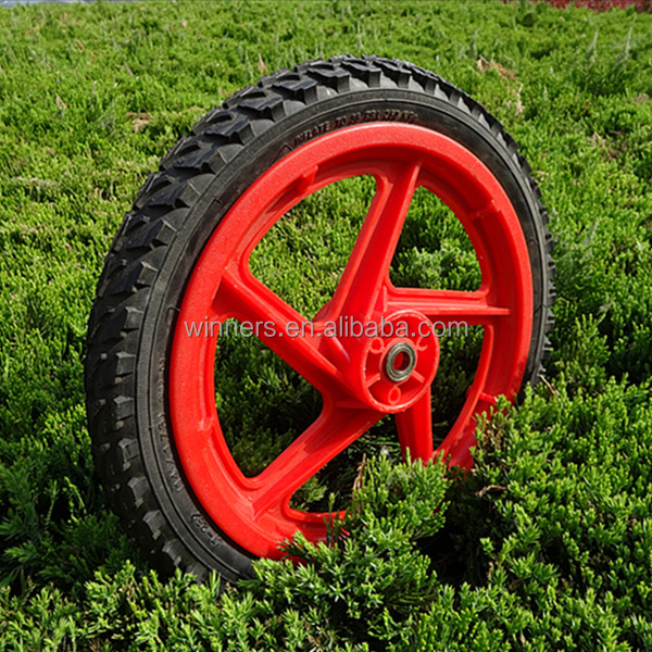 14X1.75 kids' bicycle pneumatic tyre wheel