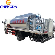 DongFeng 6000 Litri intelligente asfalto distributore <span class=keywords><strong>camion</strong></span> cisterna