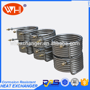 good quality titanium cooling coils and tube with Long Service Life