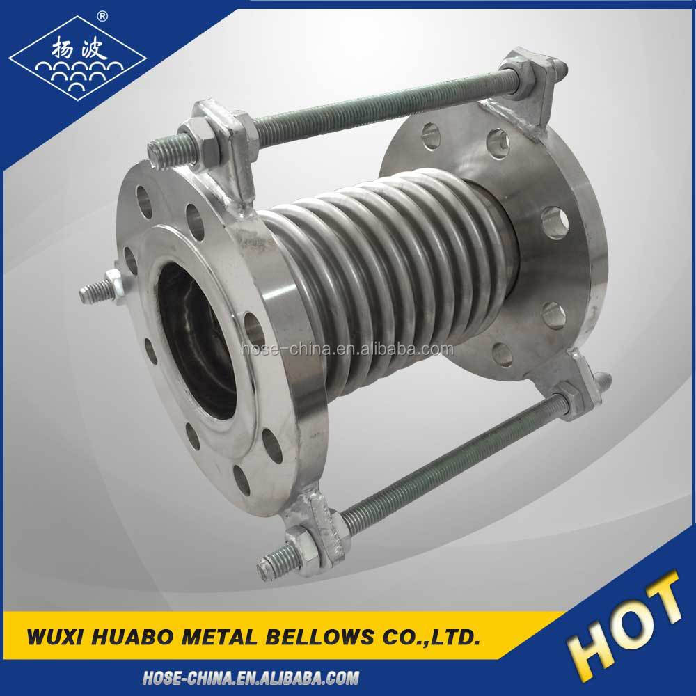 Supply stainless steel metal bellows expansion joint with tie rods