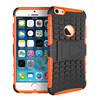 Popular universal mobile cover standing combo tpu case for iphone 6