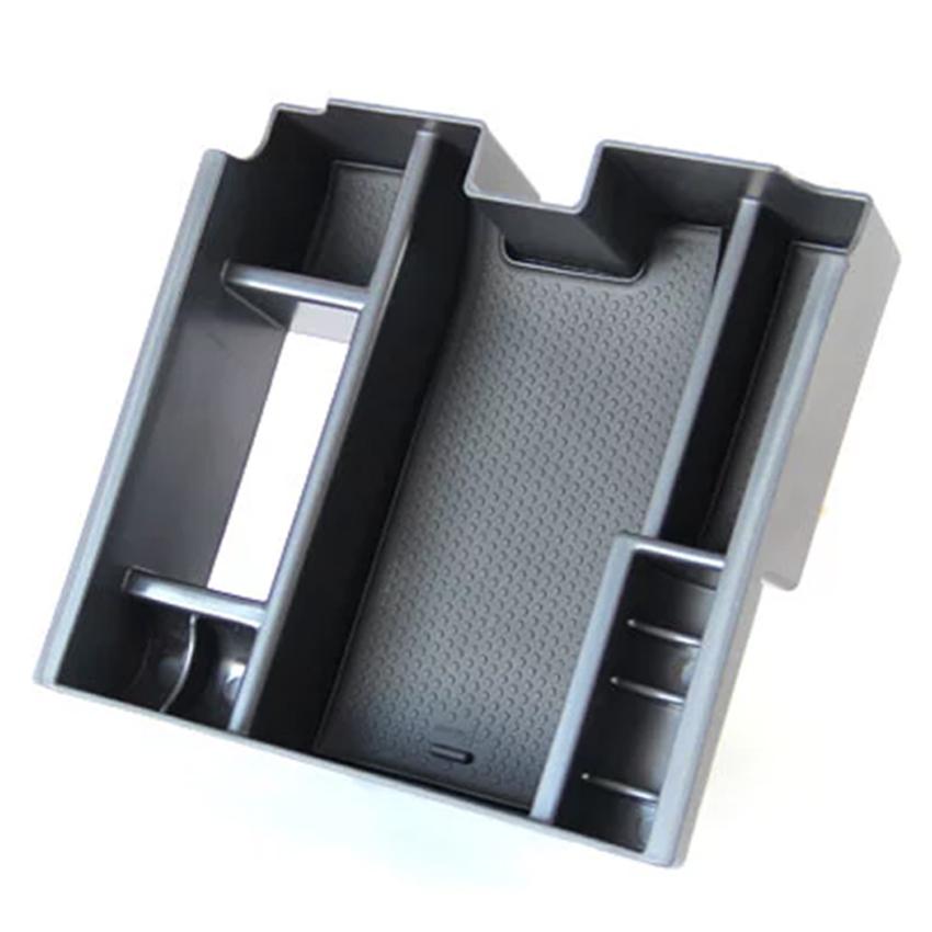 For Jaguar XF central armrest storage box, car organizer stowing tidying accessories, Jaguar XF