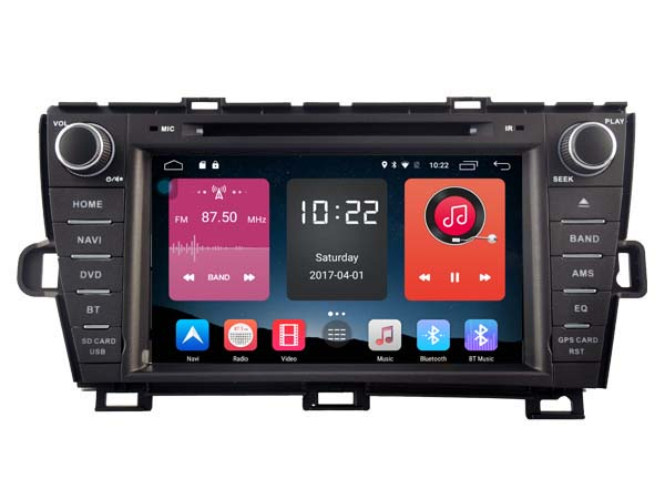 otojeta 4G lite Android 6.0 1024*600 car DVD player for Prius audio autoradio headunits stereo gps navi multimedia tape recorder