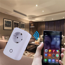 Wifi Smart Plug Socket Outlet, Remote Control Timing Function Control Plug Switch Smart Wifi Plug