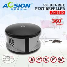 Aosion patent good performance repel mice rat ant bug 360deg ultrasonic electronic mouse and rat repeller