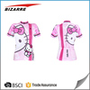 Factory hot sales cycling clothes cartoon characters Women's cycling jerseys