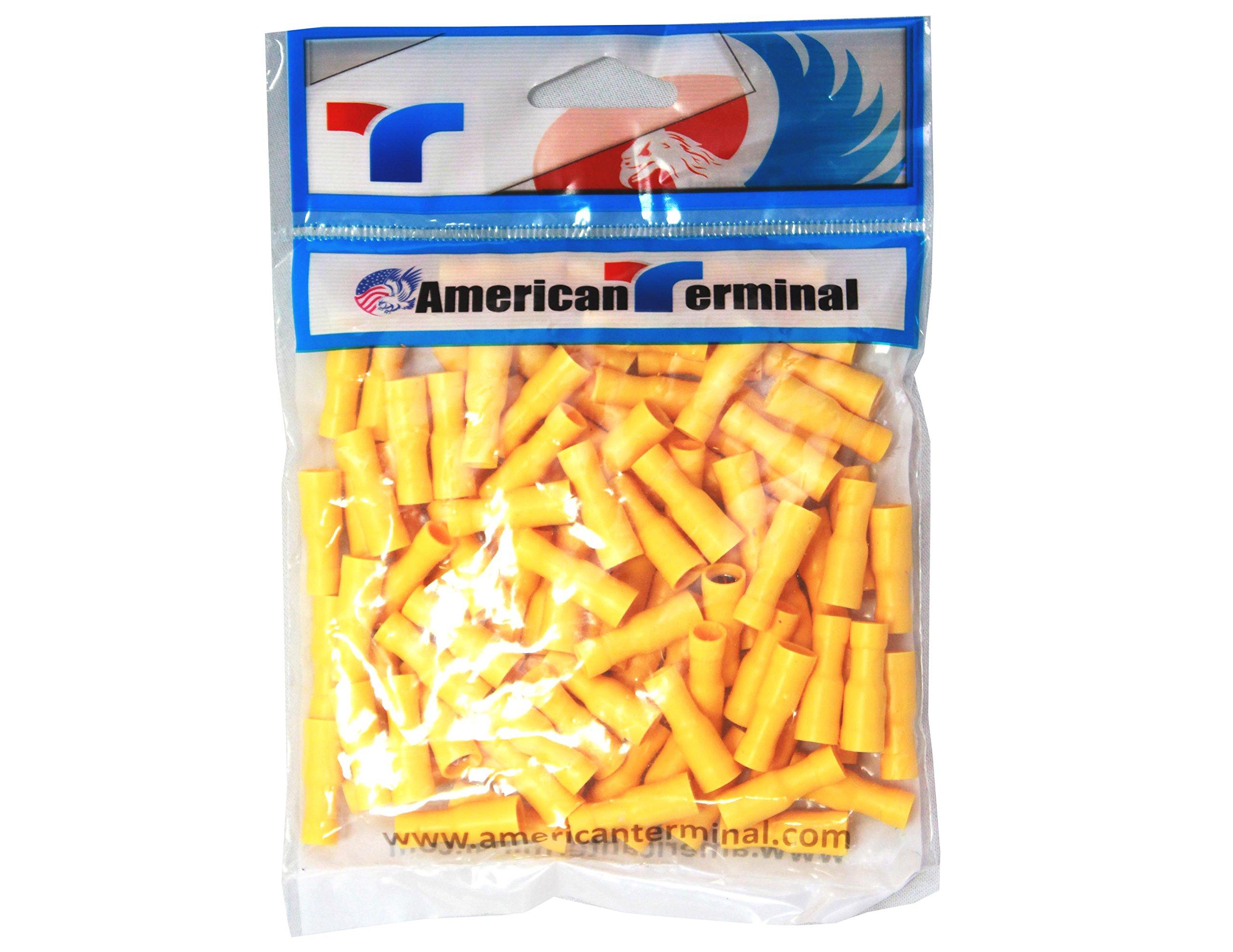 American Terminal E-RY38-100 12//10-Gauge #38 Economy Vinyl Rings AMERICAN TERMINAL SUPPLY