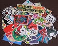 Random Collocation 50pcs Mixed Funny Hit Stickers For Kids On Laptop Sticker Decal Fridge Skateboard Doodle