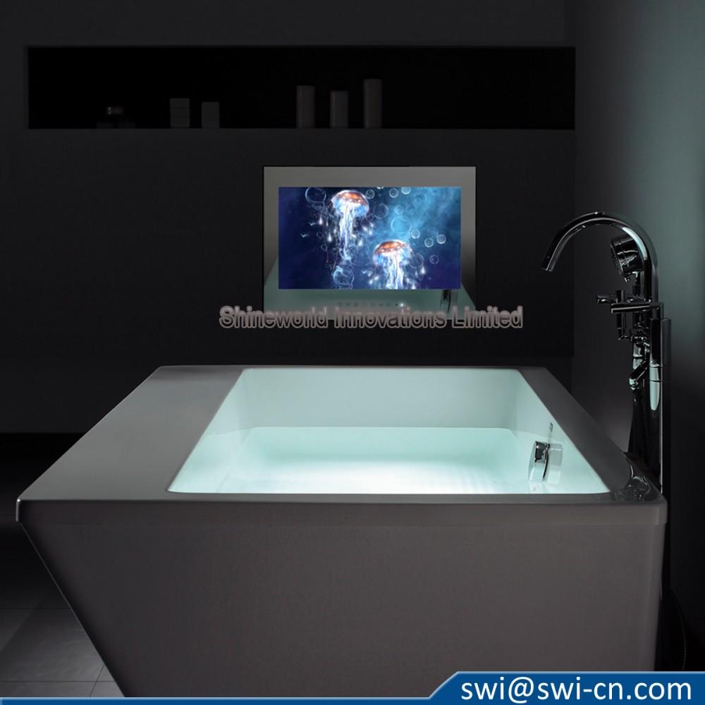 42 Pouces De Luxe H Tel Salle De Bain Tanche Miroir Tv Pour Douche T L Viseur Id De Produit