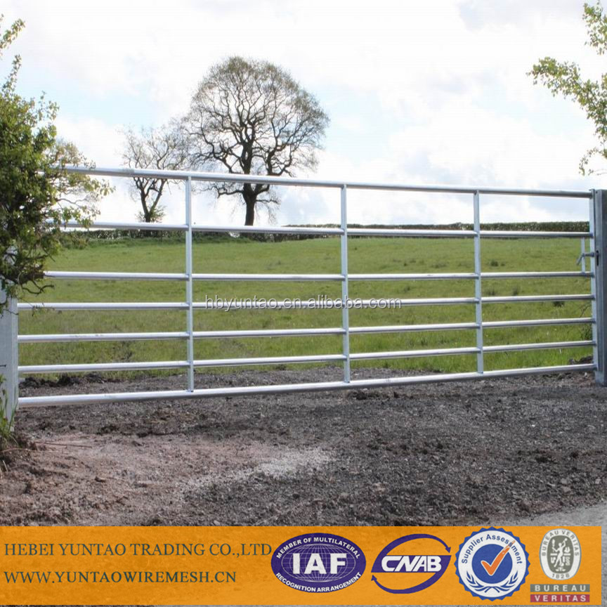 1.8m highx6 bars or 1.6m highx5 bars Australian metal portable horse fence panel
