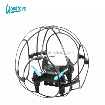 2.4G Mini drone and drone with cage net and anti-crash mini pocket drone and rc drone copter and quadcopter