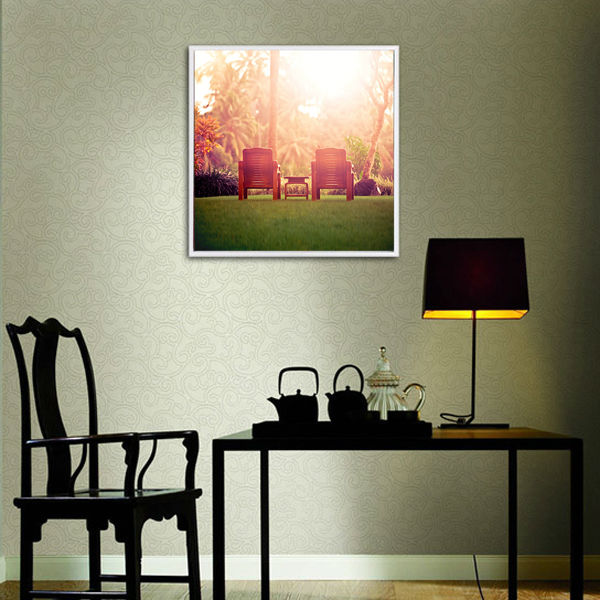Romantic Canvas Art with Floater Frame In Discount Price