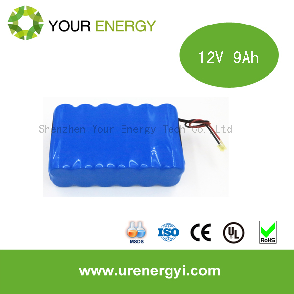 Hot sale lifepo4 battery pack 12V 9Ah rechargeable battery for mini segway