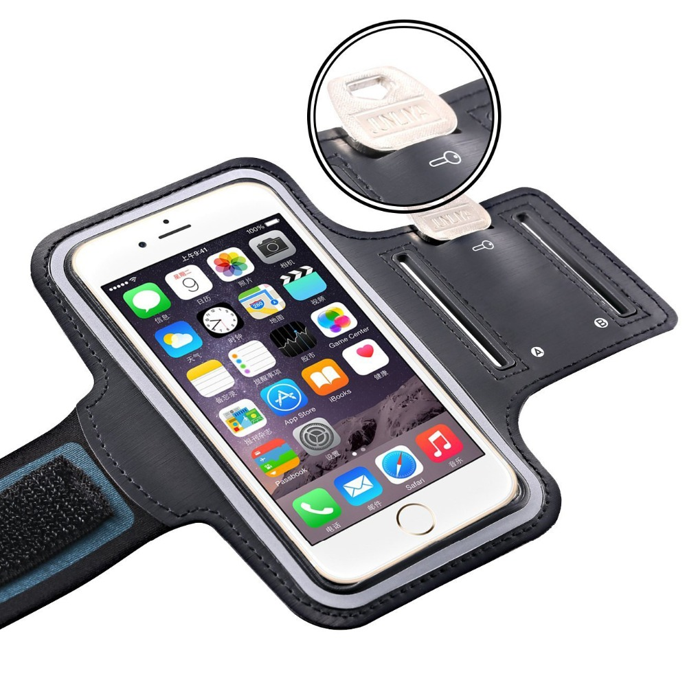 Cell Phone Brand New Summer Convenient Sports Armband Case For Apple Iphone 6 Plus