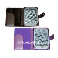 Universal 6 inch book Style Leather Case for Amazon Kindle 4/kindle touch E-Reader