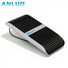 ALD68 Solar Charging TTS Voice Report Bluetooth Handsfree Car Kit
