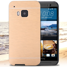 M7 M8 M9 !! Aluminum Case for HTC One M7/M8/M9 Hybrid Slim Armor Cases Luxury Metal Brushed Phone Shell Ultra Thin Cover Bags