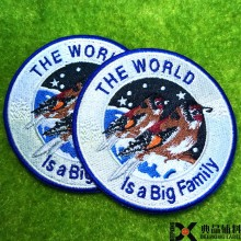 custom sew on embroidery patches embroidery patch china emboridery badge factory