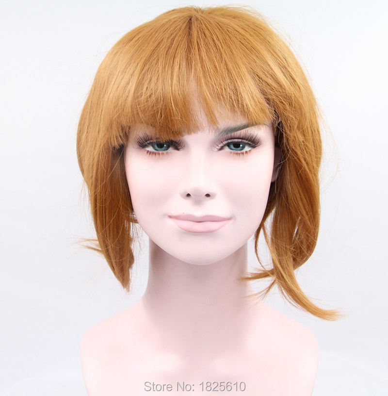 queen products 8-14inch synthetic lace front wigs synthetic ombre lace wig short bob wigs with bang for black women instock