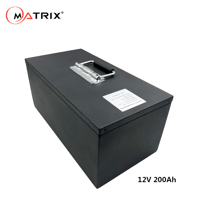 Matrix 18650 batterie al litio 12 v 200ah