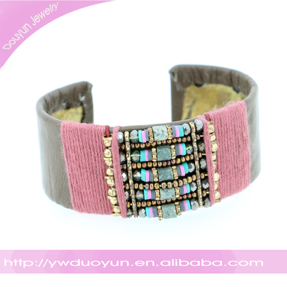 2016 Duoyun Jewelry Chic Woven Arm Bangle Brecelets