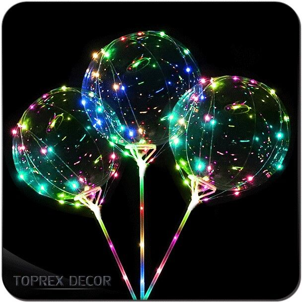 Hot sale wedding ballon party decoration LED light
