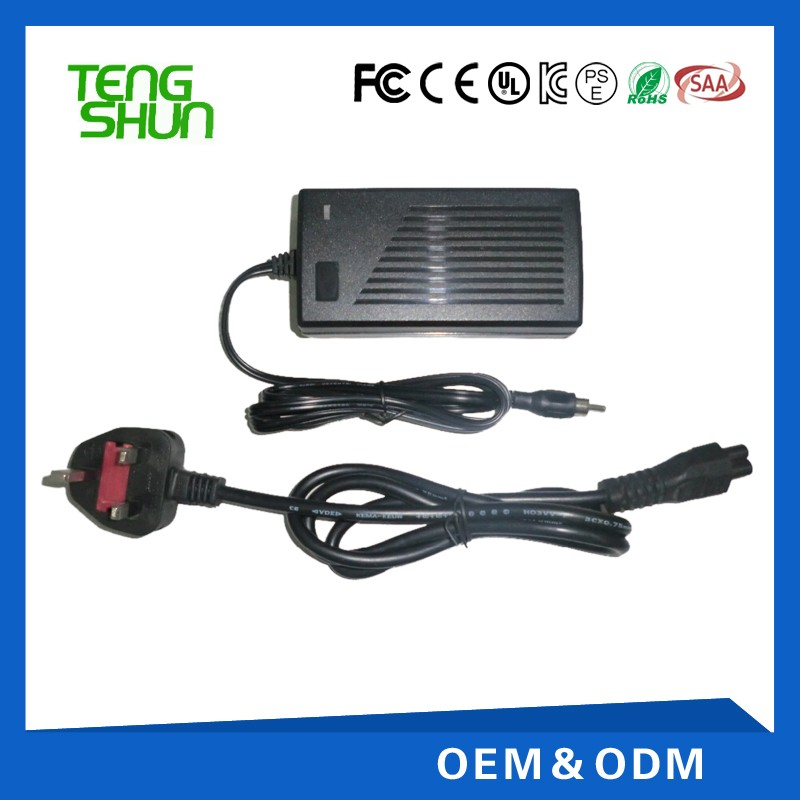 TengShun high efficiency 12v4a 24v2a automatic battery charger for 24v 12v lead acid battery