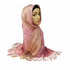 Cotton Muslim Shawl Pashmina Lady Scarf