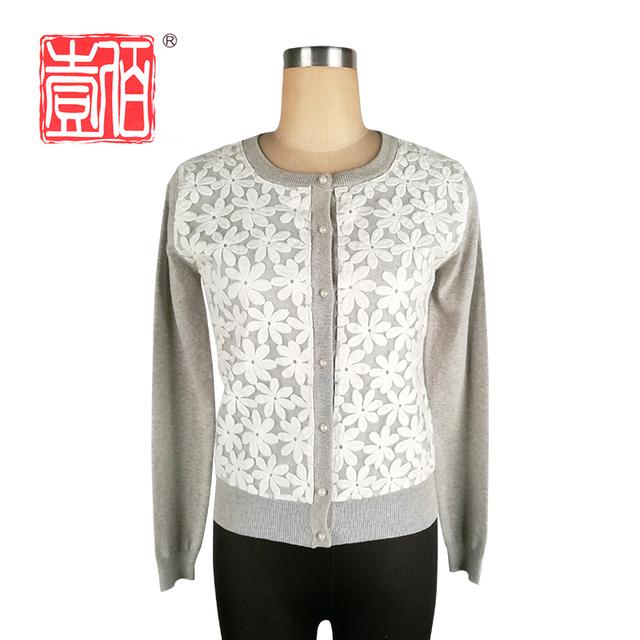 Promoción suéter chaqueta de encaje, Compras online de ...