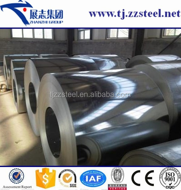 China Manufacture Prime EN10327 DX52D Z140 Galvanized Steel Coil