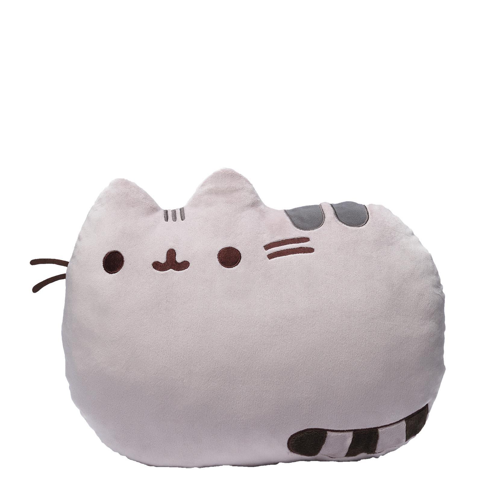 """GUND Pusheen Reversible Pillow Stuffed Animal Cat Plush, 16.5"""""""