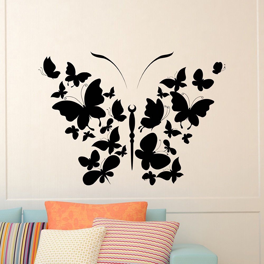 Get Quotations Erfly Wall Decal Vinyl Sticker Stickers Interior Design Art Nursery S Bedroom Living Room
