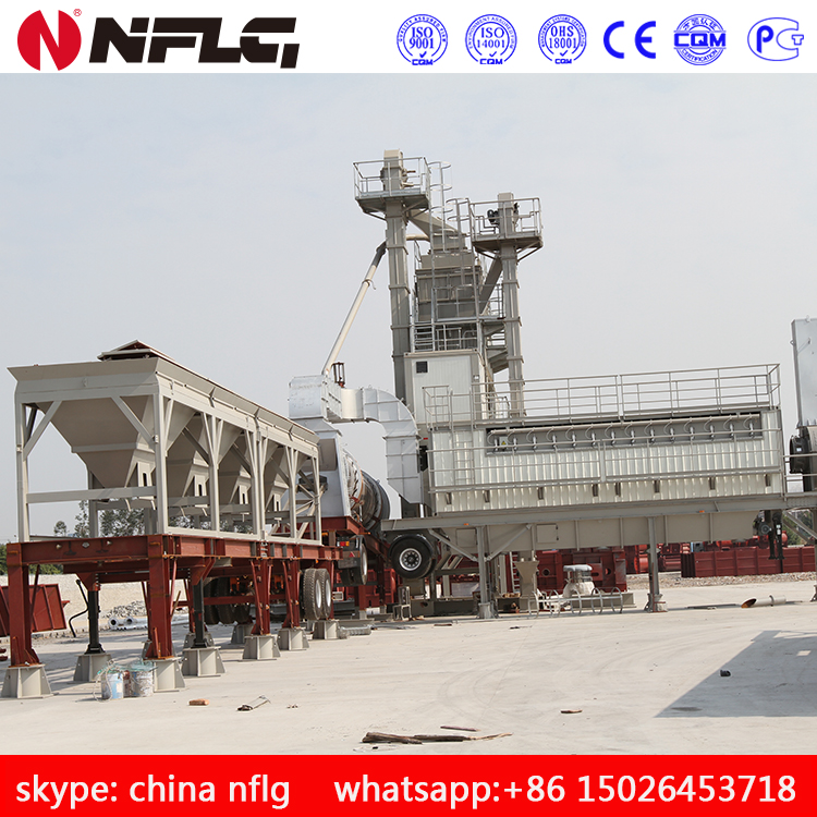 Hot sale product of asphalt mix batch plant with high efficiency