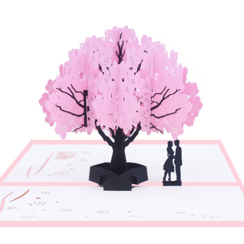 Meilun 2019 new arrival 3d pop up card, gift for mother's day