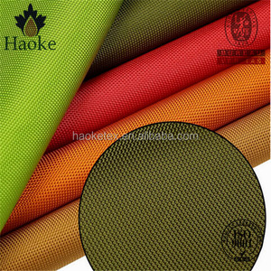 tearproof waterproof pu coating 1000d nylon cordura tent fabric