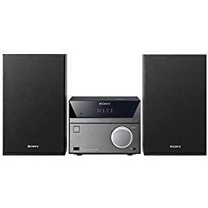 Sony Micro Hi-Fi Mega Bass Stereo Sound System with MP3 CD Player, Sleep Timer, Alarm Clock, USB & AUX Input, Remote Control