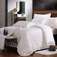 Wholesale Comfortable Stitching Bed Sheet For Hotel