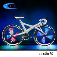 2015 Hot New Products 4 root lamps Bicycle Wheel Light LED hot wheels used bicycles